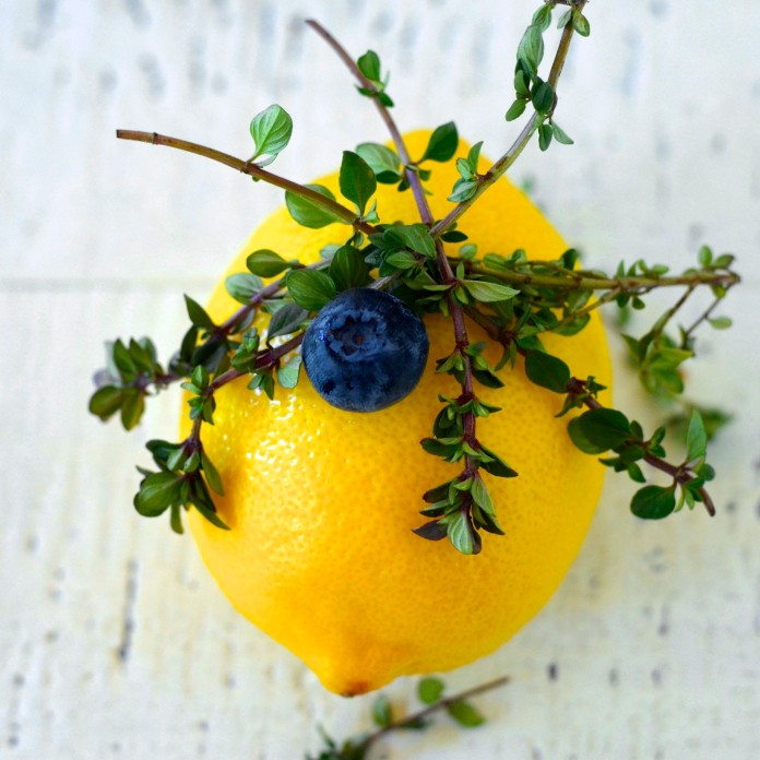 lemon blueberry & thyme